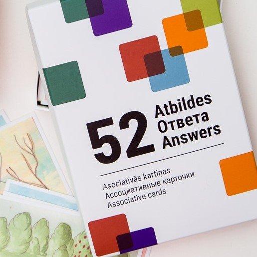 """Ассоциативные карточки """"52 Ответа"""""""
