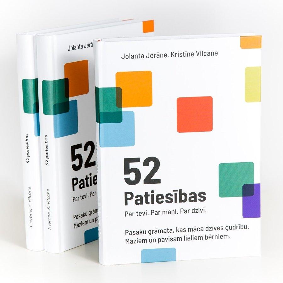 """Grāmata """"52 Patiesības. Par tevi. Par mani. Par dzīvi."""""""